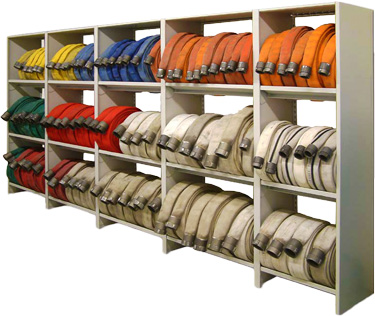 3 tier firehose storage unit