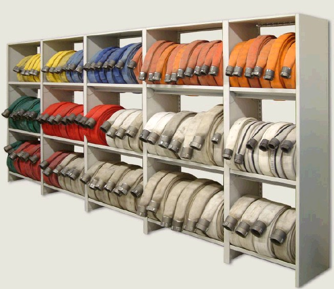 fire-hose-storage-racks-shelves-shelving-cabinet ...